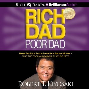 Rich Dad Poor Dad Audiobook's Cover